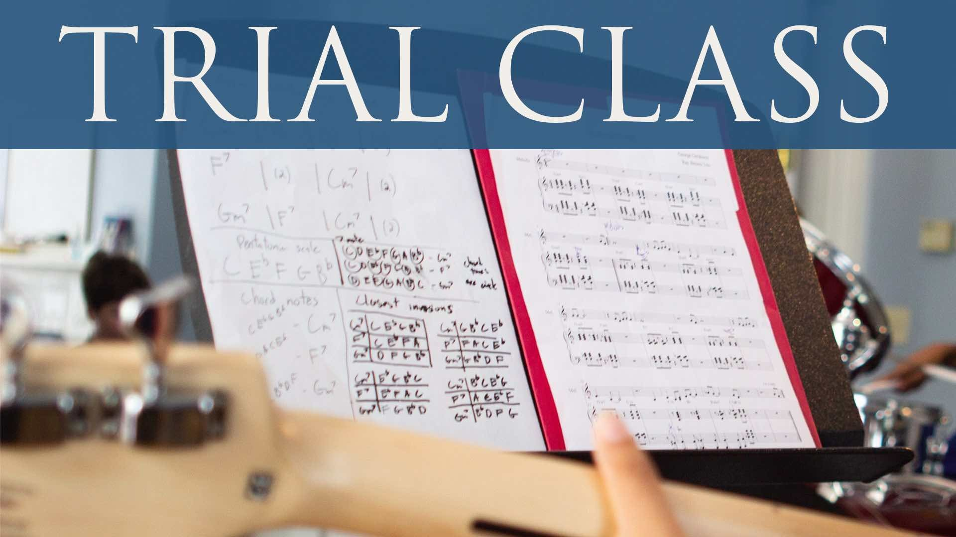 Songwriting Trial Class